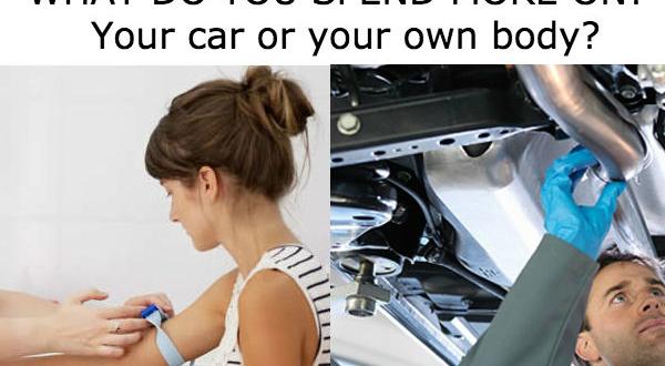 Blood test vs car